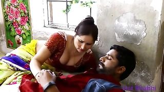 Village aunty sex porn with young neihbor