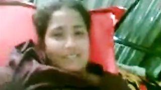 Indian chubby large boobs aunty masturbate on web camera