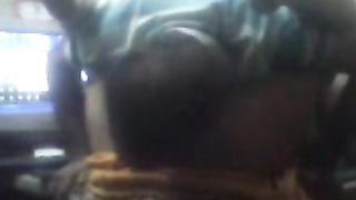 Desi Older Guy Licks her Maid Pussy