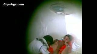 Hidden web camera free porn movie of sexy paramours