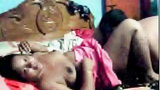 South Indian desi bbw aunty webcam sex with colleague